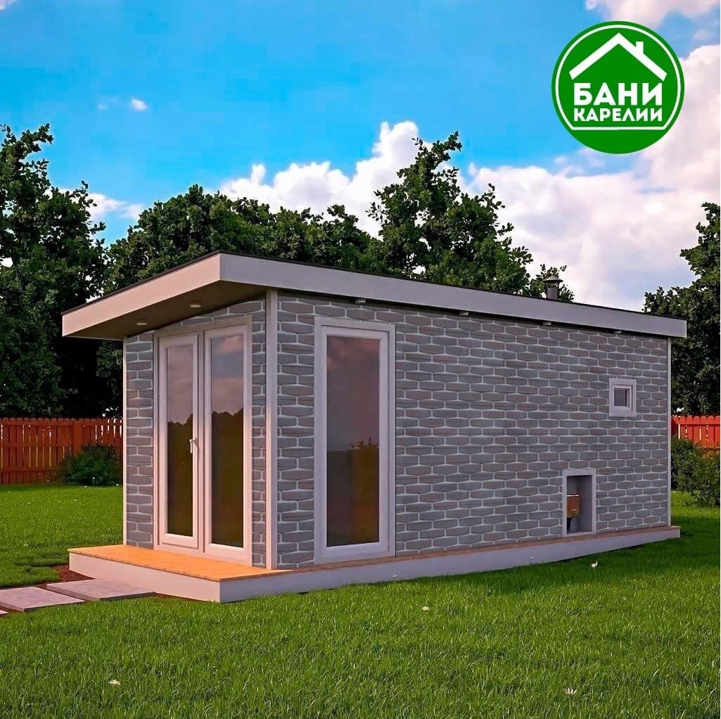 НОВИНКА! Фасад Hauberk для вашей бани или дома!