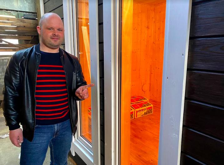 Дополнительные опции к бане - увеличенные окна