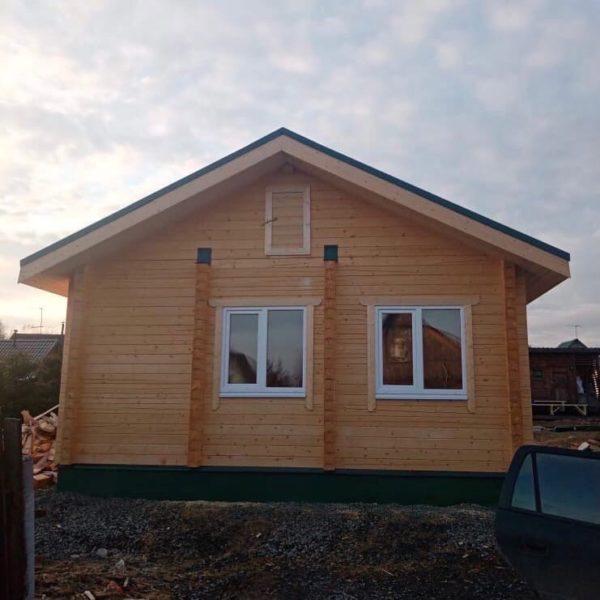 Дом из профилированного бруса 6*7,5 м